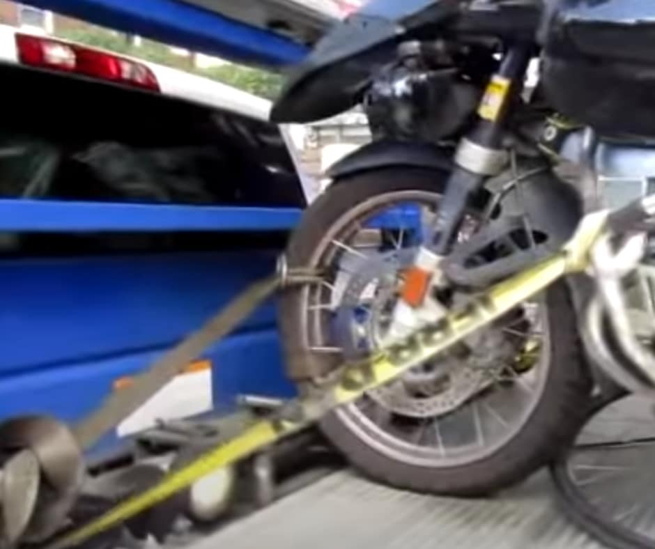 Motorcycle Towing in Macon