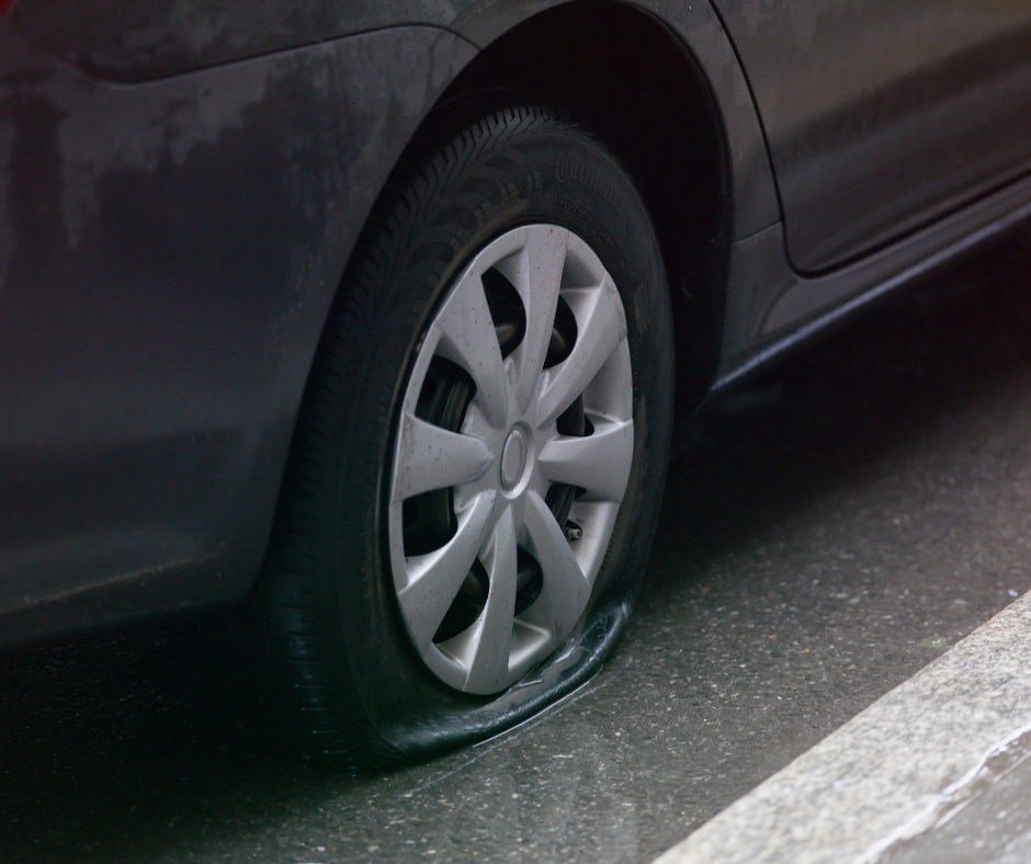 Tire Change or Repair in Macon